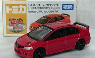 Tomica Honda Civic type r fd2 mugen rr