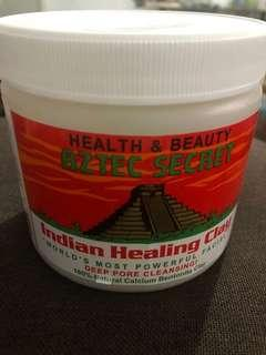 Authentic Aztec healing clay mask