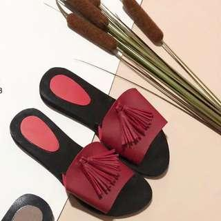 Red Sandals (used once)