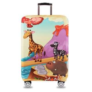 Customisable Elastic Thick Travel Luggage Suitcase Protective Dust Cover for Suitcase 18''-32''