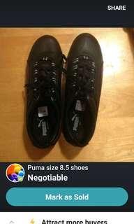 Womens puma shoes 8.5