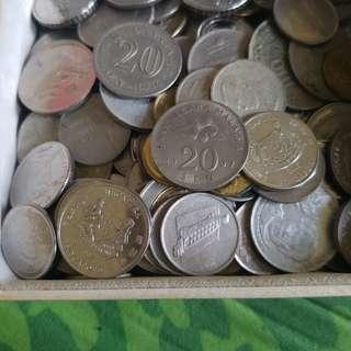 Berbagai uang kuno asal berbagai negara