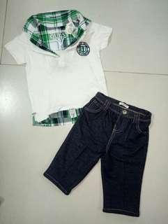 Authentic Guess Shirt and Pants