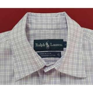 RALPH LAUREN LADIES LONG SLEEVE SHIRT BRANDED MADE IN USA