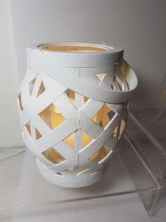 Hand carry Candle light lamp (battery operated)