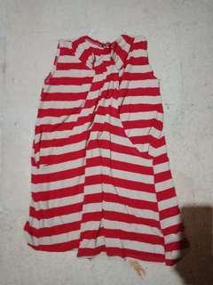 Baju loreng merah