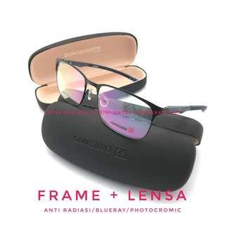Frame kacamata quiksilver 9864