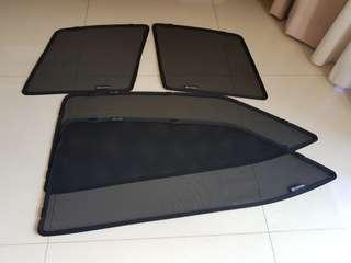 Original Toyota altis magnetic sun shades for window