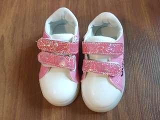 New Girl Shoe With Light (insole 13cm)
