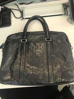 Coach causal briefcase