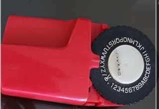 Vintage Dymo label printer