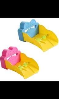 New Cute Faucet Extender for Kids Hand Wash (pink/blue)