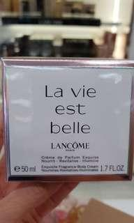 Lancome LA VIE BELLE Perfume Cream