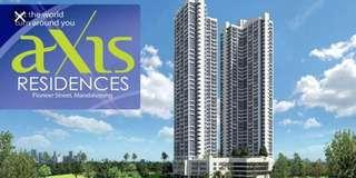 Rush Resale Studio Fully Furnished at Axis Residences Pioneer St. Mandaluyong City