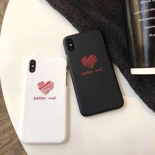 Heart Matte Case for IPhone