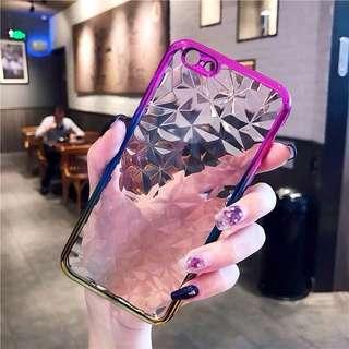 OPPO & IPHONE Soft Diamond Phone Case
