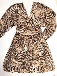 🎉Year End Sale Animal Prints Dress
