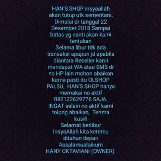 HAN'S SHOP OFF