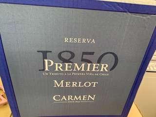Carmen premier 1850 紅酒 聖誕派對