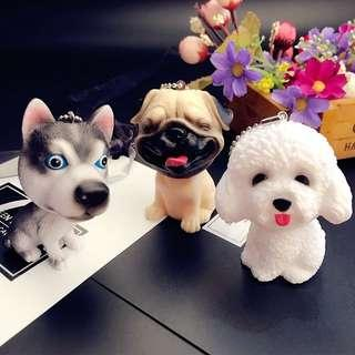 [Get Two @$15] Dogs Doll Keychain