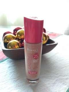 Rimmel lasting finish 25hr with comfort serum full coverage foundation