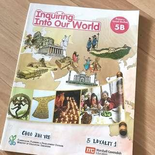 Inquiring Into Our World Primary Social Studies 5B