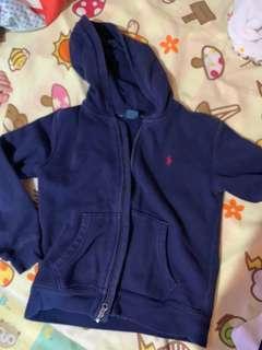 男童外套 polo hoodie