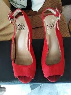 Red Wedges