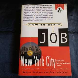 How to get a job in new york city