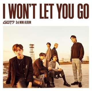 [Pre Order] GOT7 I Won't Let You Go