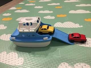 🚚 美國Green Toys 大口魚渡輪