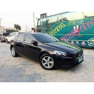 可全額超額貸 2013年 富豪 V40 1.6 5D 豪華版 一手女用車 車內還有新車味 現買現賺