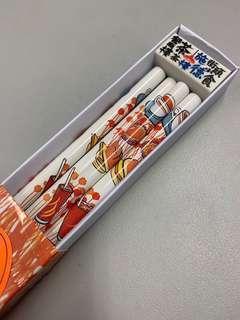 施德樓 茶餐廳 系列 鉛筆4枝 連擦膠 香港區限定 STAEDTLER 文具