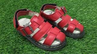 Dr martens red sandals