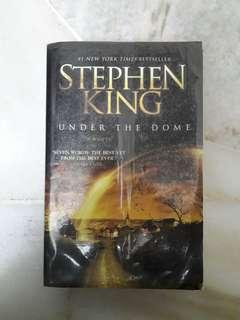UNDER THE DOME by STEPHEN KING English Novel
