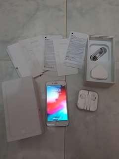Iphone 6 64gb gold fullset murah, ex inter