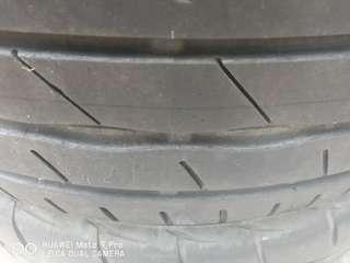 Used 225 45 17 Bridgestone Potenza RE003 tyre
