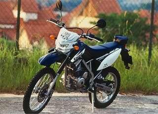 Kawasaki KLX 150 (reg. 2012), Low milage, mainly used to go buy cigarettes nearby