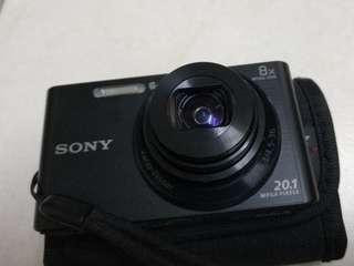Sony DSC W830 20.1MP (used) Mint