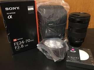 Sony Fe24-70mm 2.8 G Master
