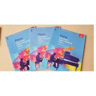 ABRSM GRADE 1 2 3 Books