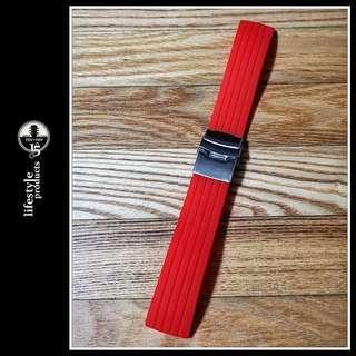 Silicone Watch Strap / Watchband *Wide 22mm - Brand New*