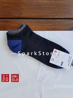 Uniqlo Kaos Kaki Short Socks Layered Black