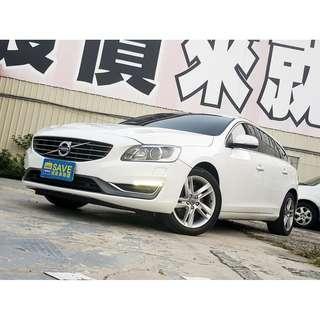 2014年 富豪 V60 2.0 5D 柴油 大馬力 超省油 跑業務必備車種 全額貸款 輕鬆月繳!