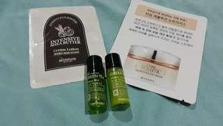 Korean skin care sampler bundle