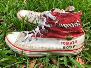 limited edition andy warhol converse