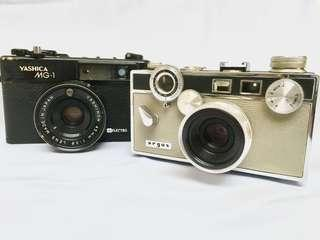 Argus C3 & Yashica MG-1: As-Is
