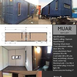 Container Chalet Muar