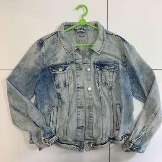 Vintage Denim & Co Acid Wash Jacket