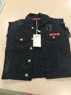 Religion Denim Vest. Brand New with Tags. Size 4